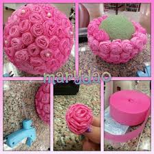 How To Make Paper Flower Ball Decorations