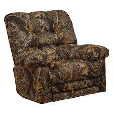 catnapper loredo mossy oak camouflage chaise rocker recliner com