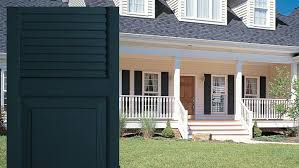exterior house shutters. Combination Exterior Vinyl Shutters By Window World House O