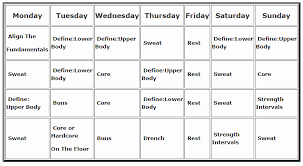 gallery for piyo workout calendar printable jennifer wood fitness piyo t25 hybrid workout schedule