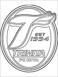 Oita Trinita Kleurplaat Gratis Kleurplaten