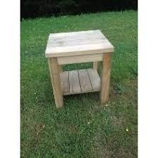 swedish redwood coffee table