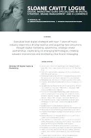 Sales Marketing Cv Digital Marketing Resume Spacesheep Co