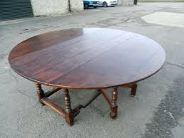 round farmhouse table with leaf 2 metre round antique table large round oak century manner drop leaf farmhouse table