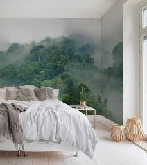Misty Forest In 2019 Home Sweet Home Wald Tapete Schlafzimmer
