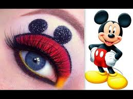 disney s mickey mouse makeup tutorial