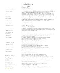 Best Nanny Resume Unforgettable Part Time Nanny Resume Examples To ...