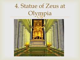the ancient and my modern wonders of the world statue of zeus at olympia