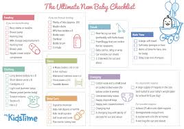What Do You Need For A New Baby The Ultimate Baby Checklist