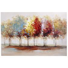 lively trees art 31x47