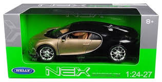 These can easily withstand the rough these. Bugatti Chiron Gold Black 1 24 1 27 Diecast Model Car By Welly Contemporary Decorative Objects And Figurines By Section H Houzz