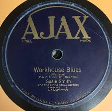 Susie Smith And The Choo Choo Jazzers* - Workhouse Blues / House Rent Blues  (1924, Shellac) | Discogs