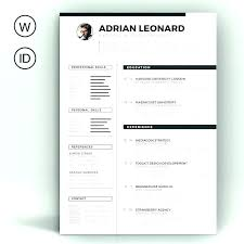 Web Resume Templates Personal Resume Template Virtual Business Card