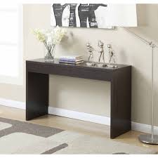 espresso entryway table. Hallway Console Table Modern Decor Living Room Furniture Espresso 325124272950 | EBay Entryway