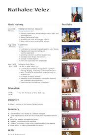 Freelance Fashion Designer Resume samples