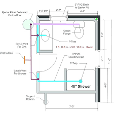 tub rough in shower plumbing rough in basement bathroom rough in any feedback on the drain