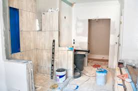 how to remove retile a bathroom on a budget