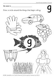 Learn how to read with this interactive and fun alphabet phonics video. Letter G Worksheets Sb44 Sparklebox