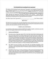 Consulting Agreement Form Samples - 7+ Free Sample, Example Format ...