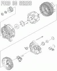 ford 6g alternator wiring diagram ford image fuel injection technical library alternator files on ford 6g alternator wiring diagram