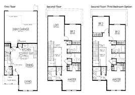 Townhomes  JM Weston HomesTownhomes Floor Plans