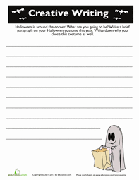 th grade halloween writing prompt worksheets com halloween story starters 2