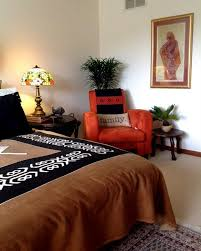 African Themed Bedroom traditional-bedroom
