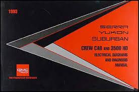 gmc sierra wiring diagram image wiring 1993 gmc ck yukon suburban sierra pickup wiring diagram 1500 2500 3500 on 1993 gmc sierra