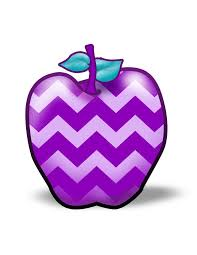 purple apple clipart. enjoy this cute apple with a non-traditional twist. purple clipart