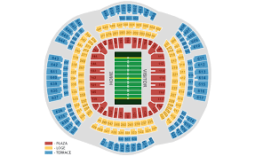 Superdome Seating Chart With Row Numbers Mercedes Benz Superdome New Orleans Tickets Schedule