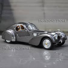 Bugatti veyron mansory empire edition 2013. 1 28 Diecast Metal Vintage Car Model Bugatti Type 57sc Atlantic Pull Back Toy With Sound Light Toy Vintage Cars Diecast Modelsvintage Car Aliexpress