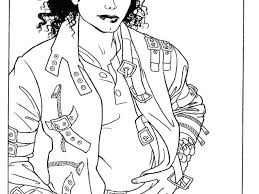 Michael Jackson Coloring Sheets Download By Tablet Desktop Original