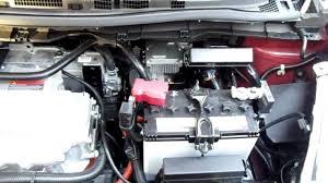 nissan leaf engine bay electric motor nissan leaf engine bay electric motor