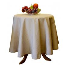 provence tablecloth esterel beige round 63 100 cotton made