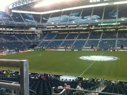 Seattle Sounders Seating Chart With Rows Centurylink Field Section 208 Row A Seat 16 Seattle