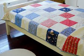 A Boys Quilt – Children At Play | sweet & White, Red and Blue Boys Quilt Adamdwight.com