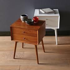 mid century modern bedside table. Mid Century Modern Bedside Table West Elm