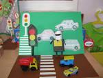 Поделка детская на тему дорожного движения