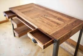 pallet furniture desk. wood pallet desk with drawers and shelves furniture y