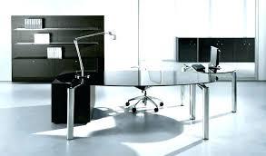 contemporary office desk glass.  Glass Computer Desk Glass With Regard To Modern Decor  Contemporary Trinity 46 Black And   On Contemporary Office Desk Glass E