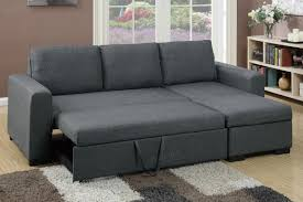 mini sectional sofa pull out bed poundex associates item convertible best