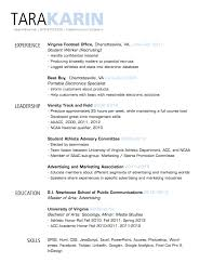 Resume Header Examples Resume Template Headings Header Samples And Footer Examples 2