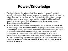 postmodernism foucault and baudrillard 13 power knowledgebull