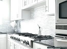 white glass tile backsplash glass mosaic tile kitchen glass tiles white