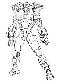 Top 20 iron man coloring pages: Coloring Pages Iron Man Coloring Page