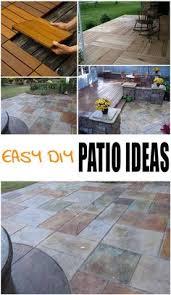 patio flooring choices. easy diy patio ideas flooring choices
