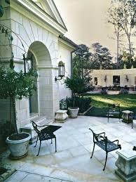 mediterranean outdoor furniture. Mediterranean Concrete Patio Design Outdoor Furniture