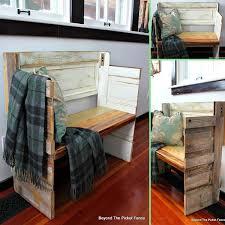 old door furniture ideas. 07-A-DOOR-able-Bench-woohome Old Door Furniture Ideas