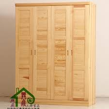 solid wood furniture solid wood wardrobe closet wardrobe sliding door cabinet special cabinet pine country of