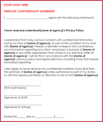 Confidentiality Agreement Samples 10 Client Confidentiality Agreement Templates Forms Samples